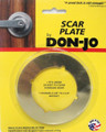 Don Jo Scar Plate Bright Brass SP 135 605