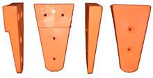 2 of the 6 different types of Frog Inserrts - Orange = Medium