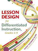 Lesson Design for Differentiated Instruction: Grades 4-9