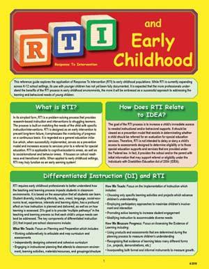 RTI Early Childhood