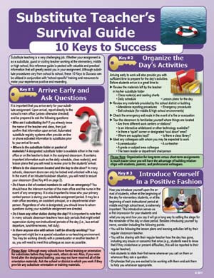 Substitute Teachers Survival Guide
