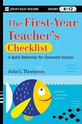 The First-Year Teacher's Checklist