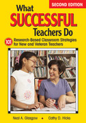 What Successful Teachers Do: 101 Researched-Based Classroom Strategies