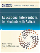 Educational Interventions for Students with Autism, UC Davis MIND Institute