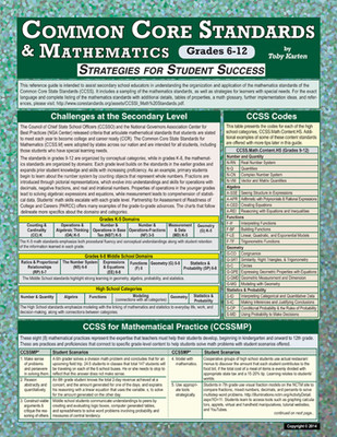 Common Core Standards & Mathematics