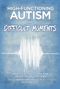 High Functioning Autism and Difficult Moments, cover