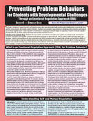Preventing Problem Behaviors for Student with Developmental Challenges Through an Emotional Regulation Approach (ERA), Guide 2