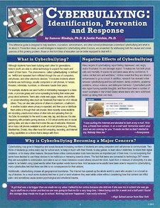 Cyberbullying: Identification, Prevention and Response