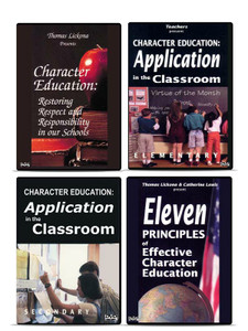 Character Education 4 DVD Series