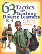 63 Tactics for Teaching Diverse Learners (K-6) Book Image