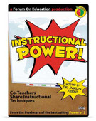 Instructional Power! Co-Teachers Share Instructional Techniques