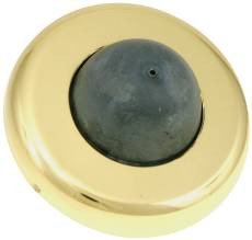 Rockwood 406 Convex Cast  Wall Bumpers Brass Finish