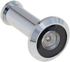 180 Deg Door Viewer 26D Dull chrome