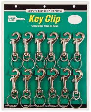 Strong nickel plated zinc and solid brass bolt key snaps
