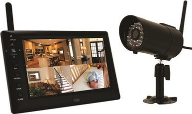 DWS-471-One Audio Surveillance Digital Wireless Indoor/Outdoor IP-66 Camera with 60' Night Vision Capability