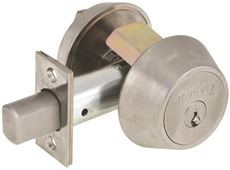 Medeco 11WC60226PA  Single cylinder Deadbolt
