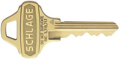 Schlage C123 Key Blanks