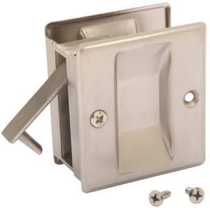 John Sterling Pocket Door Passage Pull Lock