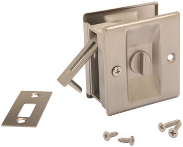 John Sterling Passage Privacy Pocket Door Pull Lock