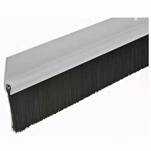 NGP 600A DOOR SWEEP CLEAR ANODIZED 36""