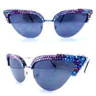 Risque Cateye Sunglasses - Purple Haze