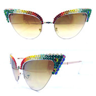 Risque Cateye Sunglasses - One Love