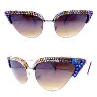 Risque Cateye Sunglasses - Godiva
