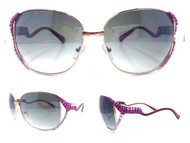 Crossover Aviator Sunglasses