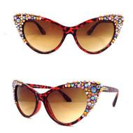 Crystal Cateye Apex Bifocal Sunreaders