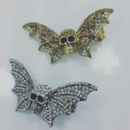 Batty Skull Wing Rings!