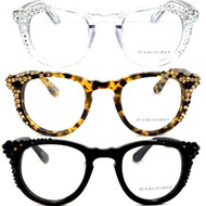 Swarovski AB (top) Leopard          (middle) Swarovski Jet (bottom)