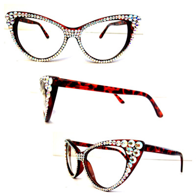 swarovski cat eye glasses - Image 1