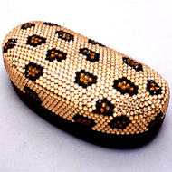 Bling Sunglass Case-Leopard