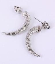 Crystal Horn-Silver