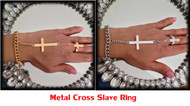 Cross Themed  Hand Chain