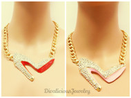 Blinged Out Sexy Stiletto (4 Colors!)