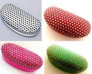 Duocolor Crystal Sunglasses Case