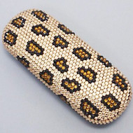Crystal Small Eyewear Case - Leopard