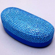 Bling Large Eyewear Case - Blue