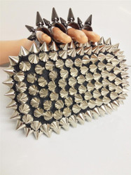 Spiked Knuckle Clutch