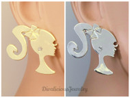 Barbie Stud Earrings (5 colors!)