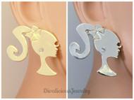 Barbie Stud Earrings (5 colors!)