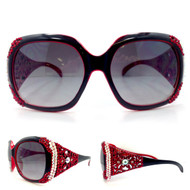 Red Bugatti Sunglasses