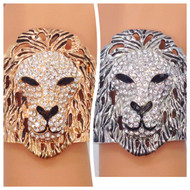 Pave Set Lion Bracelet