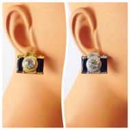 Camera Stud Earring