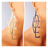 LOVE Statement Earring