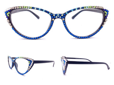 Glasses Frame Repair Seattle : Midi Cateye Reading Glasses- Seattle - Divalicious Jewelry