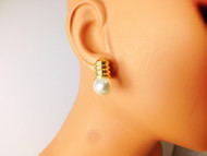 Light Bulb Stud Earring