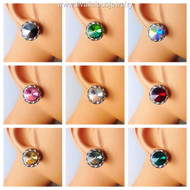 Swarovski Crystal Stud Earrings