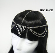 Dazzling Crystal Cascaded Head Chain